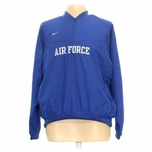 NIKE Air Force Quarter Zip Windbreaker Jacket XL